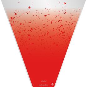 Celestine 20x17x5in red