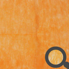 Sheet Nonwoven 50x50cm orange