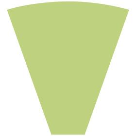Sleeve Alexia 50x44x12cm green