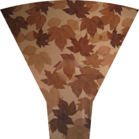 Fall Leaves 19 in Moon Top brown (No Header)