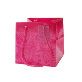 Carrybag Jungle 16x16x16cm cerise