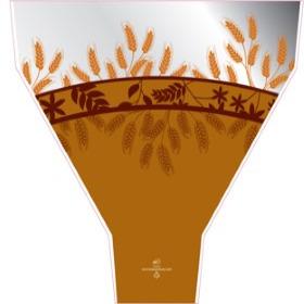 Prairie 19.5x17.5x5in brown
