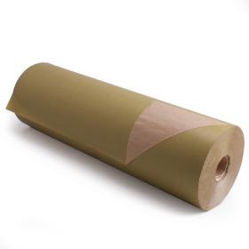 Kilo Bruinkraft 50cm/50g. op rol olijfgroen p/kg