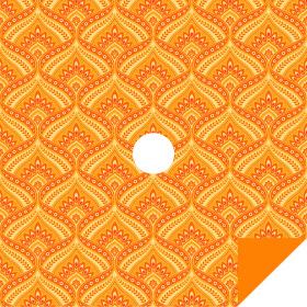 Jasmin 24x24in orange H3