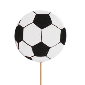 Wooden Football 4.6cm on 10cm stick