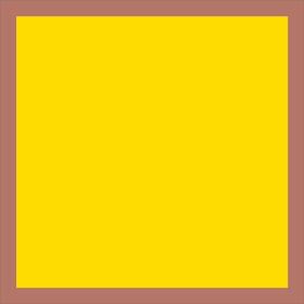 Sheet Blushy 80x80cm yellow