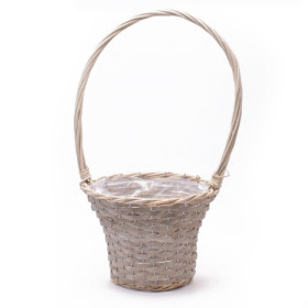 Basket Dreamy Garden Ø29 H21cm gray