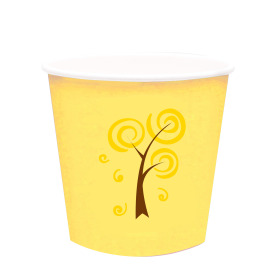 Papercup Pack & Give® ES12 yellow