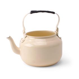Zinc Teapot pastel yellow