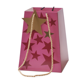 Carrybag Starbeat 11/11x15/15x20cm FSC Mix 70% pink