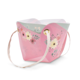 Carrybag Poetry 5.3x3x4.3 in pink