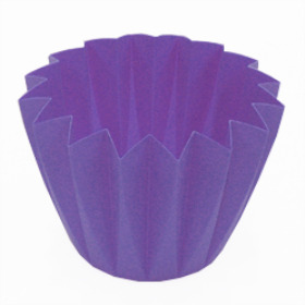 Cupcake container 5.5 in lilac