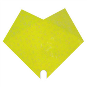 Sleeve Doublé Romance 40x40cm yellow