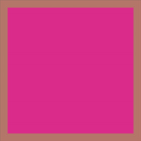 Blushy 24x24 in hot pink