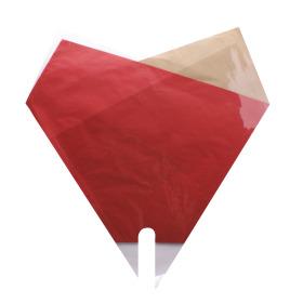 Sleeve Doublé Desert 50x50cm red
