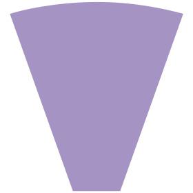 Sleeve Alexia 50x44x12cm lilac