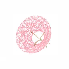 Boekethouder Paperweb Ø20cm roze