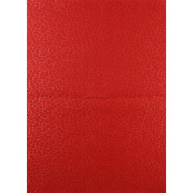 Impress Square 20x28in red + x