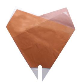 Sleeve Doublé Desert 50x50cm orange