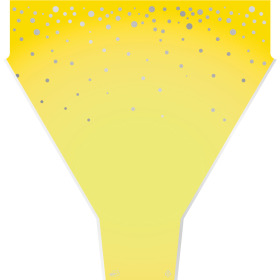 Sleeve Universe 50x44x12cm yellow