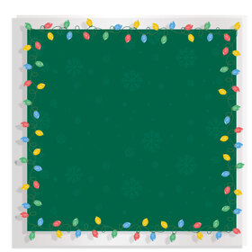 Christmas Bulb 24x24in green