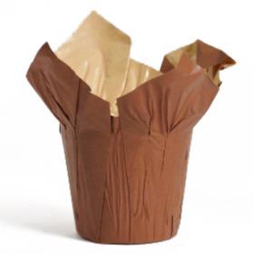 Cover-Ups Kraft 6 in dark brown