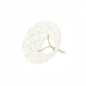 Bouquet holder Paperweb Ø20cm white