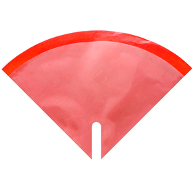 Hoes Doublé Blushy 35x35cm rood
