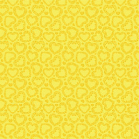 Watersafe Tissue Sweet Romance 24x24 in yellow with hole