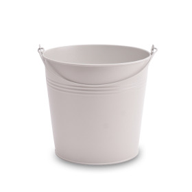 Zinc bucket Breeze ES17 misty gray matt