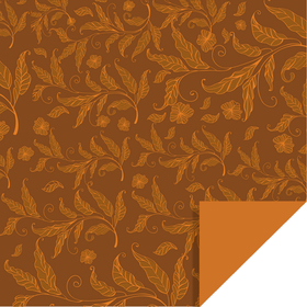 Fall Elegance 24x24 in brown