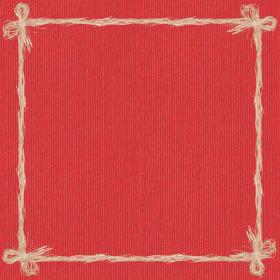Raff 24x24in red