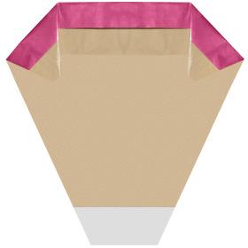 Hoes Doublé Florist 45x44x13cm pink