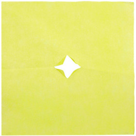 Nonwoven 20x20in yellow + x