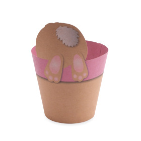 Potcover Hippity Hop 4 in pink