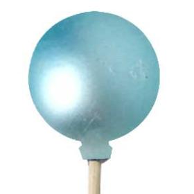 Christmas Ball Matte 4cm on 50cm pick light blue