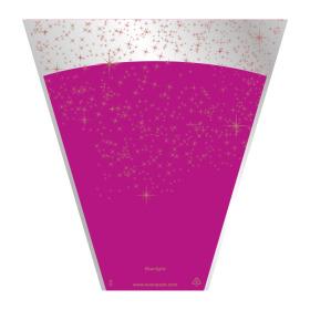 Sleeve Starlight 40x30x12cm cerise
