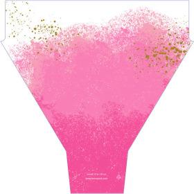 Monet 21x17x5 in pink