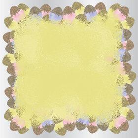 Egg Doppy 24x24in yellow H3