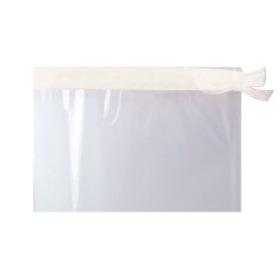 Sleeve Foil Roset De Luxe 40x50cm transp./white