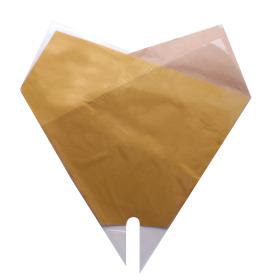 Sleeve Doublé Desert 50x50cm yellow