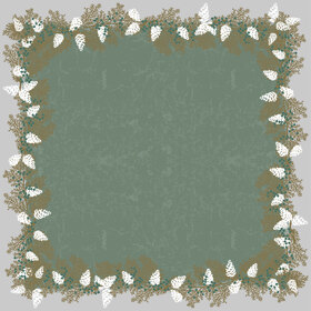 Garland 24x24 in green H3