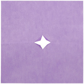 Nonwoven 20x20in lavender + x