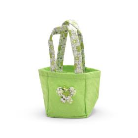 Carrybag Vlinder Vilt 9,5x9x11cm groen