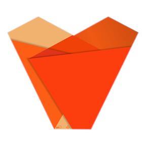 Sleeve Teagan 50x54x15cm orange