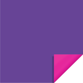 Bi-Color Sheet 24x24in purple / hot pink