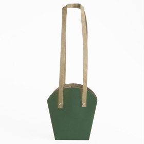 PLANTCARRIER CARDBOARD 5 IN D.GREEN