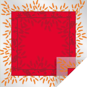 Prairie 24x24in red - Colombia only