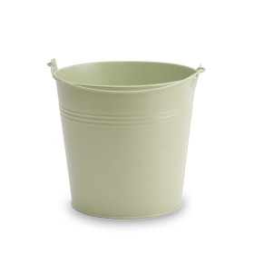 Zinc bucket Breeze ES19 Cyprus green matt