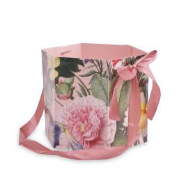 Carrybag Boudoir Ø15x15cm pink